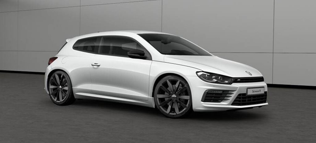 volkswagen scirocco r wolfsburg special edition announced. Black Bedroom Furniture Sets. Home Design Ideas