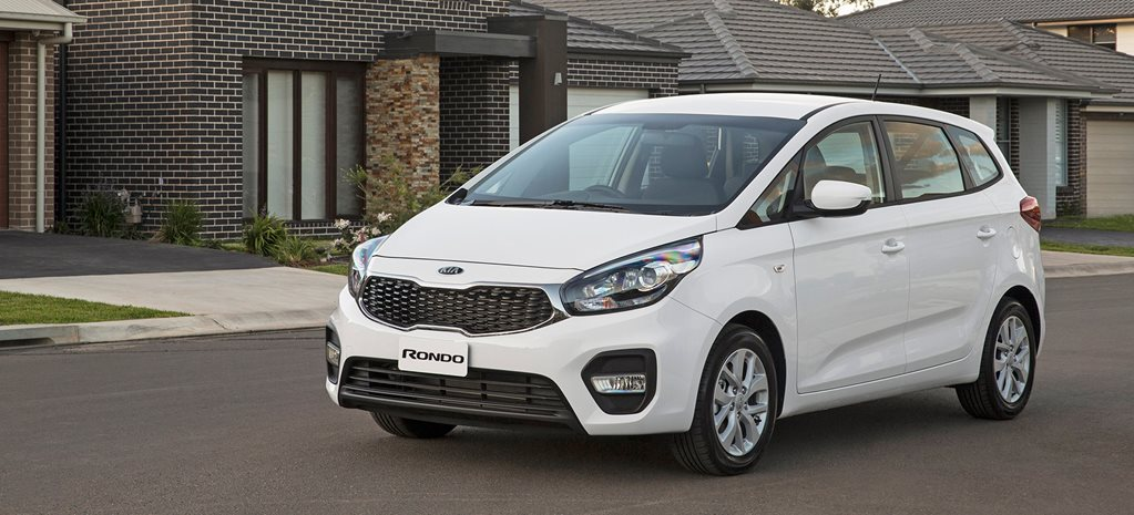 2017 Kia Rondo gets five-seater, revised range to boost sales