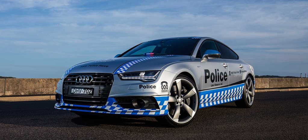 Audi S7 joins NSW Police fleet