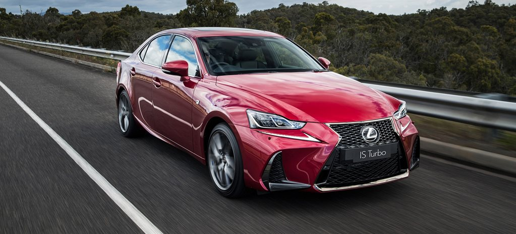 2017 Lexus IS sedan upgrade