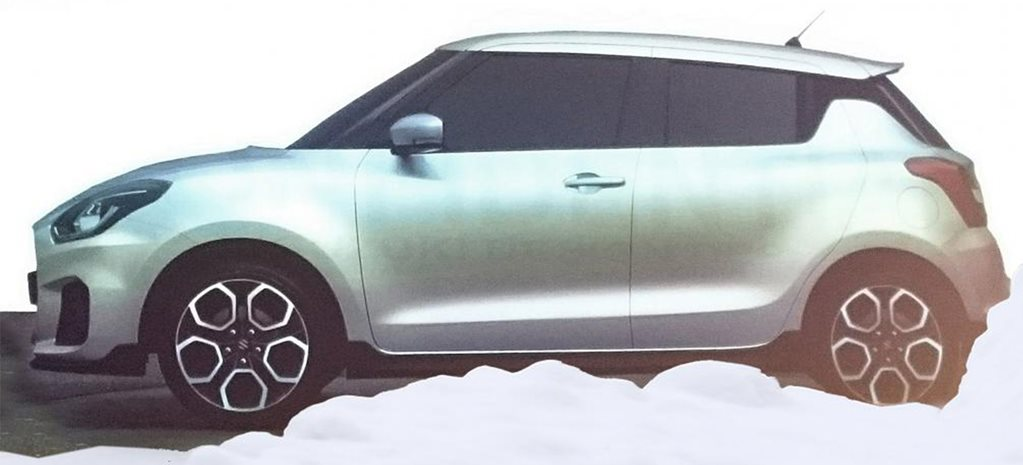 2017 Suzuki Swift revealed in leaked image