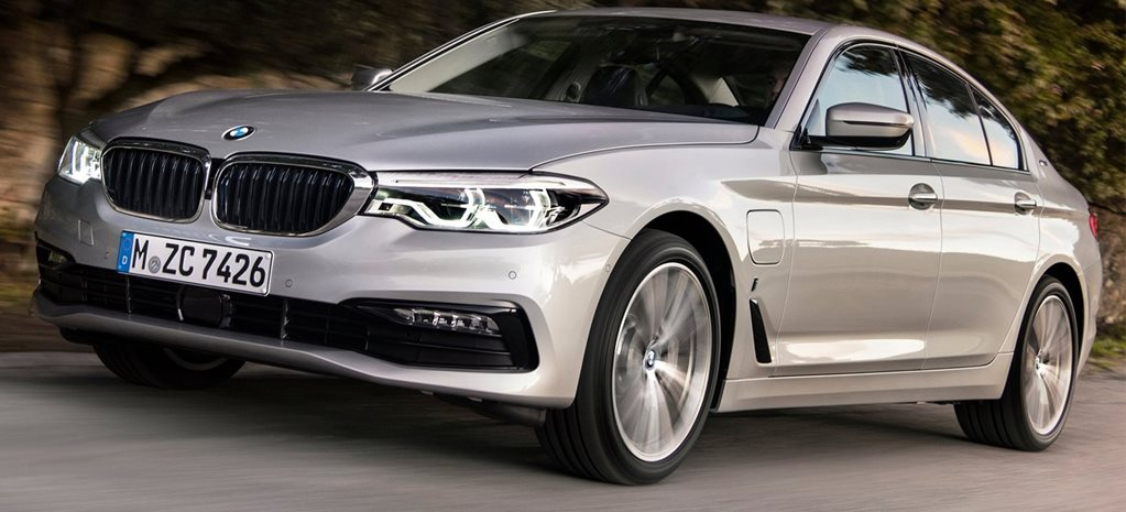 2017 BMW 530e iPerformance plug-in hybrid details revealed