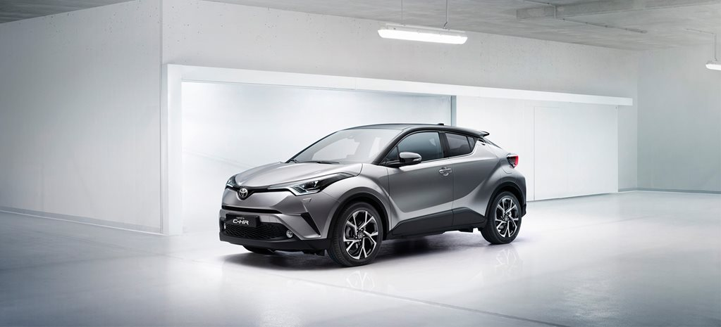 2017 Toyota C-HR range and specifications announced