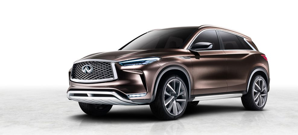 Infiniti to debut QX50 concept at Detroit motor show