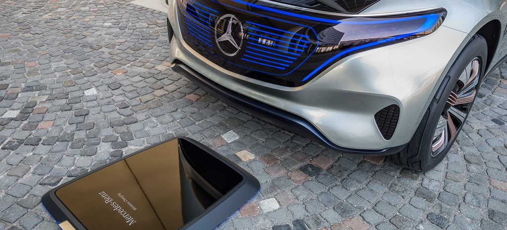 Mercedes-Benz inductive charging