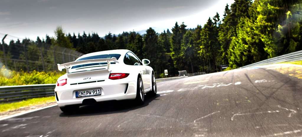Porsche GT3 around Nurburgring