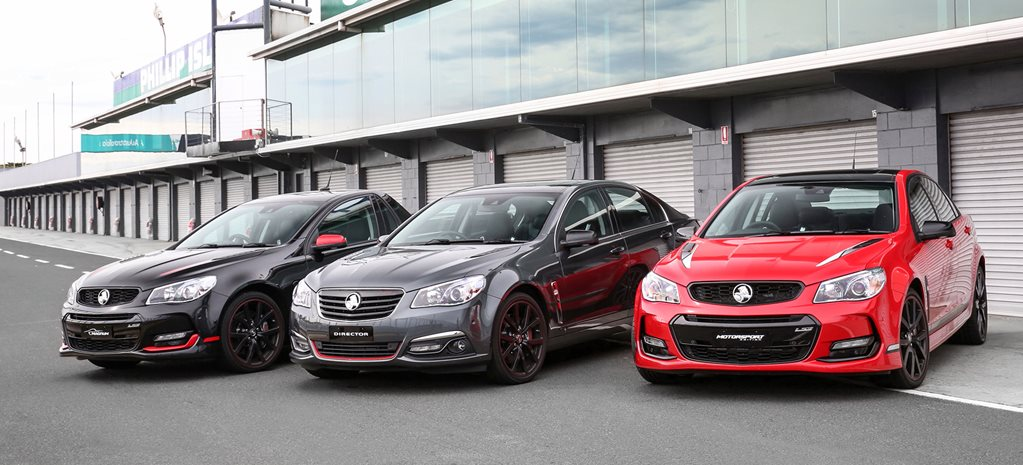 2017 Holden Commodore Limited Edition range