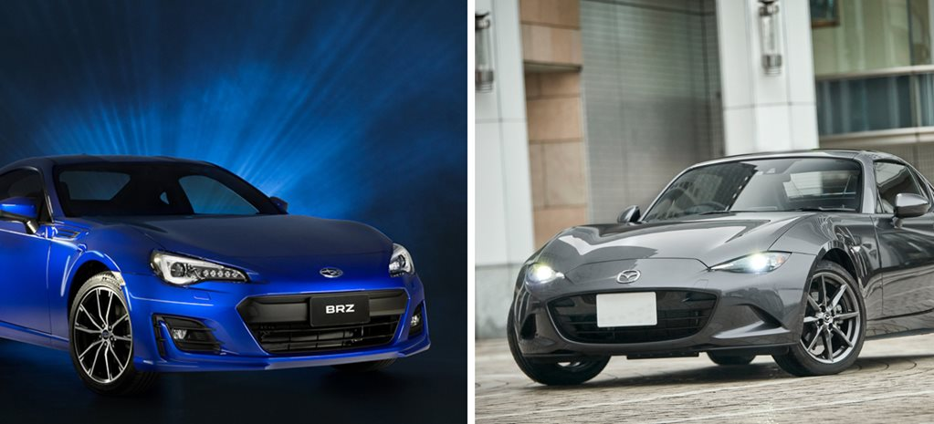 2017 Mazda MX-5 RF vs Subaru BRZ review