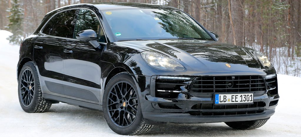 2018 porsche macan spied. Black Bedroom Furniture Sets. Home Design Ideas