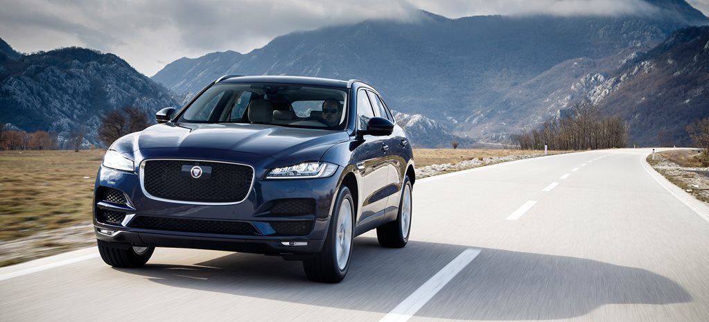 Jaguar F-Pace, XE and XF gain new engines and tech for 2017
