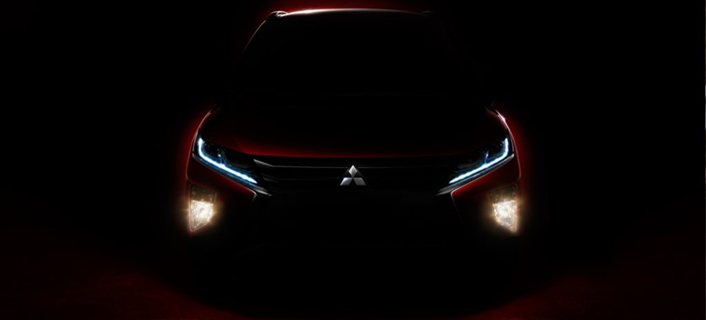 Mitsubishi Eclipse Cross SUV teased ahead of 2017 Geneva Motor Show