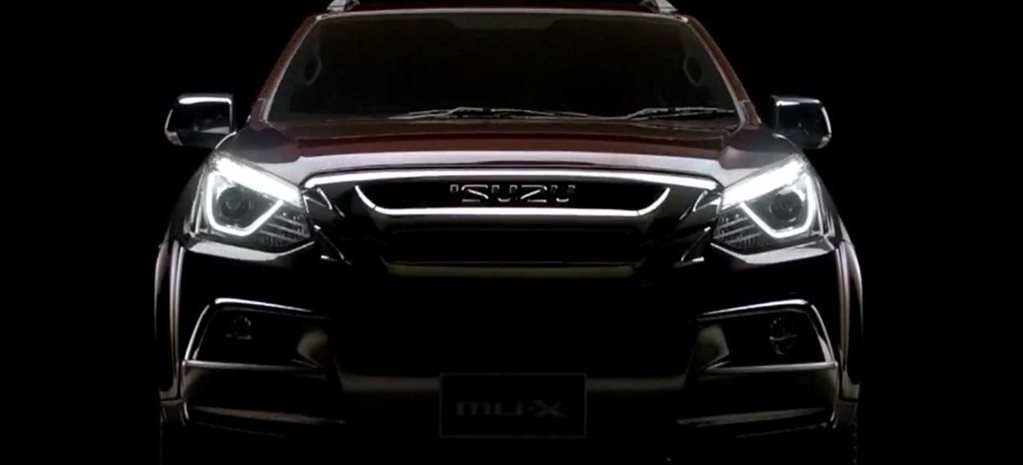 2017 Isuzu MU-X update teased