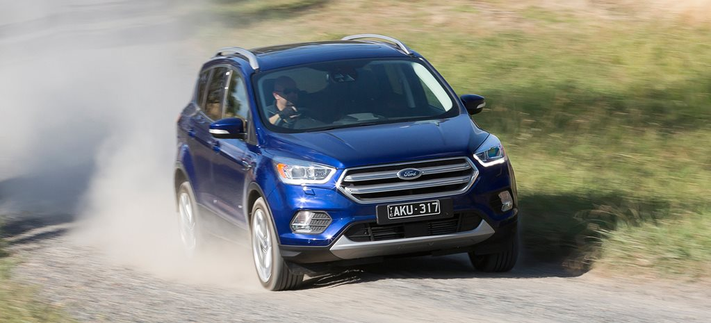 2017 Ford Escape front