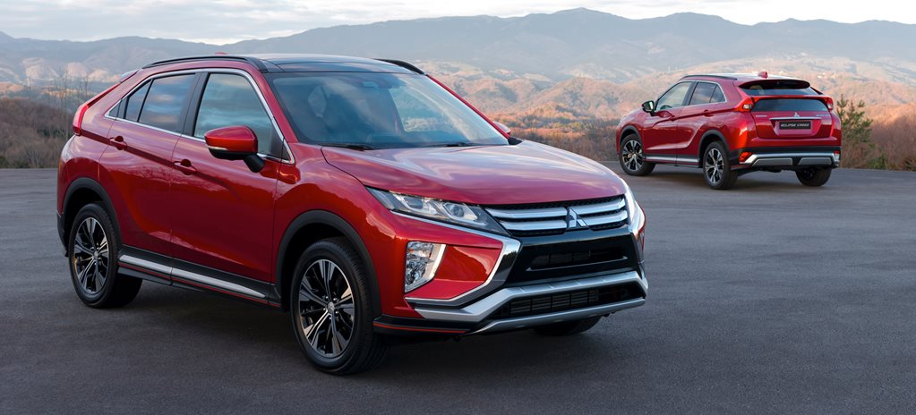 2017 Geneva Motor Show: Mitsubishi Eclipse Cross revealed
