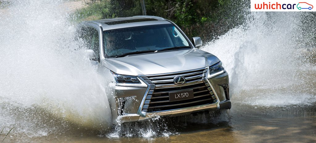 2017 Lexus LX570 Review