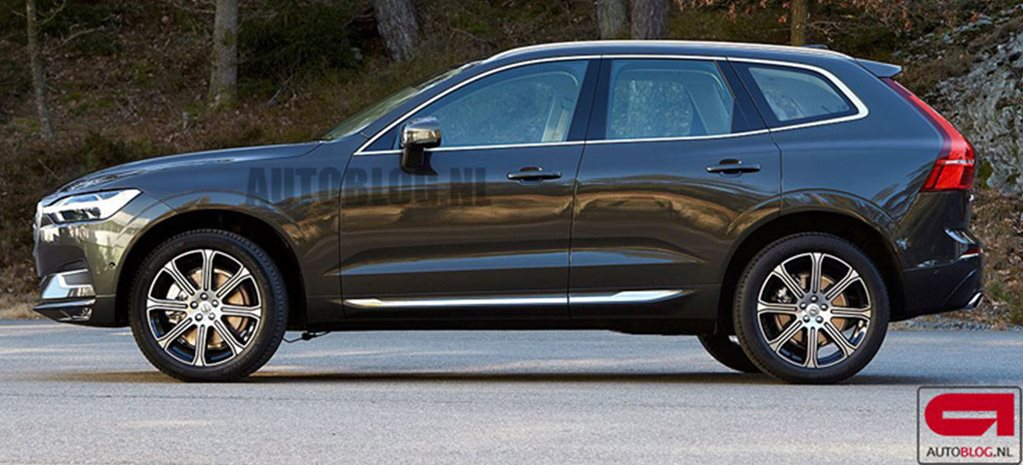 Volvo XC60 exposed on eve of Geneva Motor Show