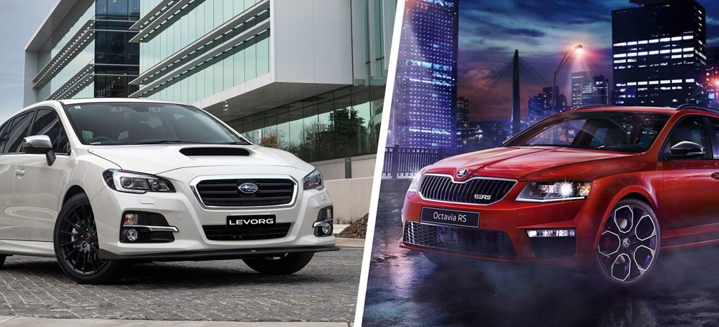 2017 Subaru Levorg GT-S Spec B vs Skoda Octavia RS230 wagon review