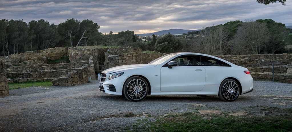 mercedesbenz e300 coupe quick review