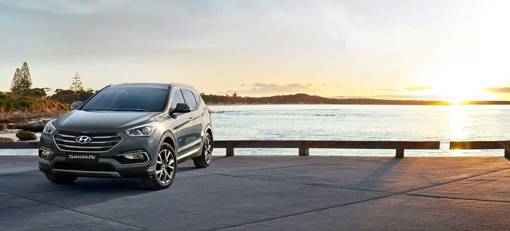 Hyundai brings back V6 Santa Fe Active X