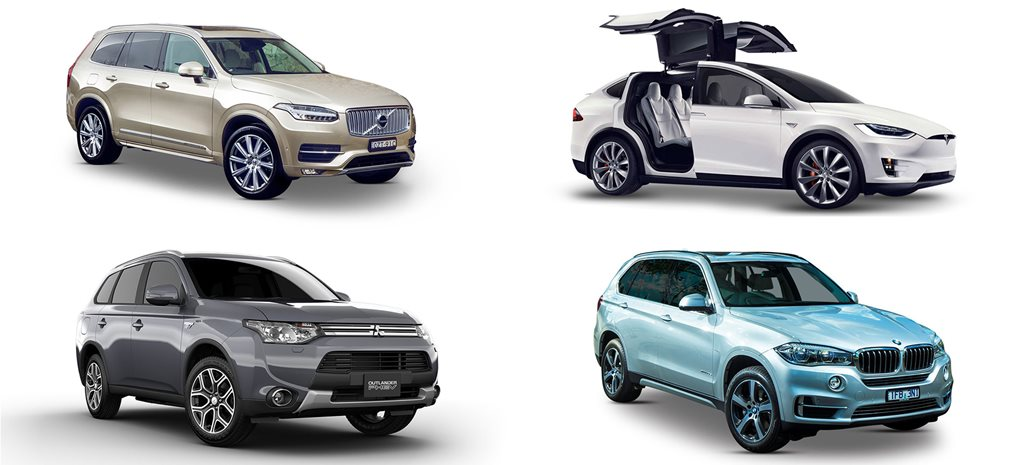 Four PHEV and EV SUVs for the environmentally-conscious