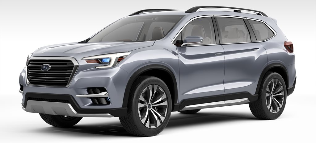 New York Motor Show: Subaru Ascent concept revealed