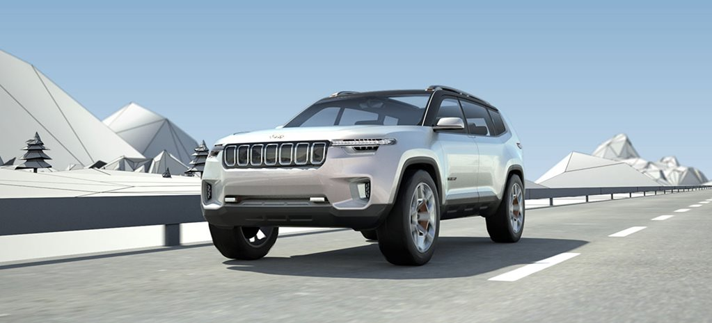 Shanghai Motor Show: Jeep Yuntu concept shines light on seven-seat future