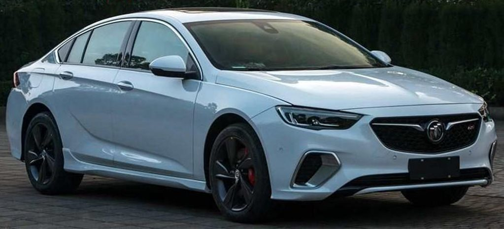 Holden Commodore SS replacement spied