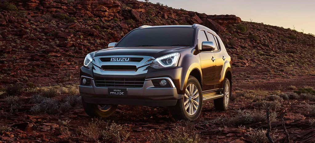 2017 Isuzu MU-X pricing and features