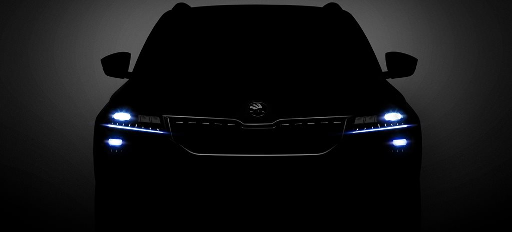 Skoda Karoq SUV teased ahead of global reveal