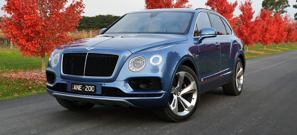 Bentley suv australia