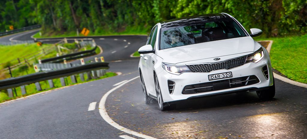 Kia Optima GT quick review