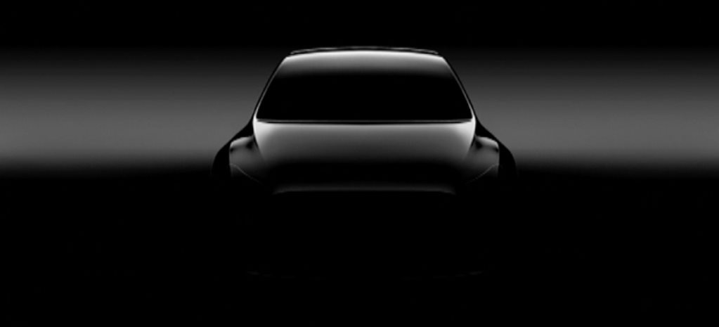 Tesla Model Y medium SUV teased