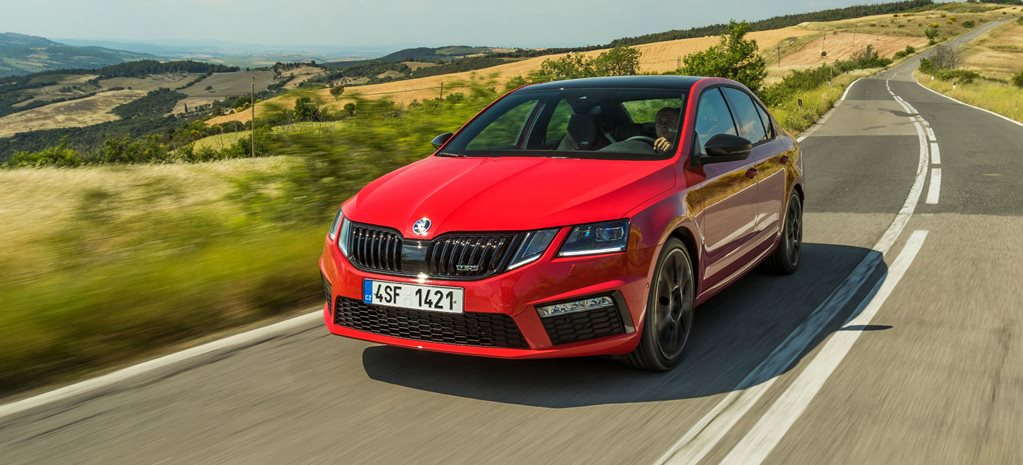 2017 Skoda Octavia RS245 hangs on automatic choice