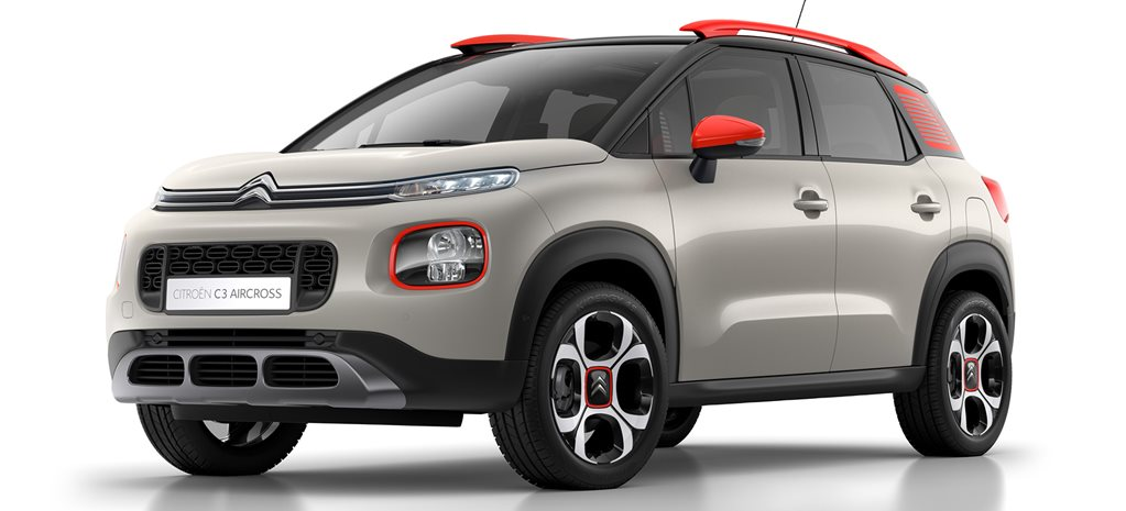2018 C3 Aircross Builds Citroen SUV assault