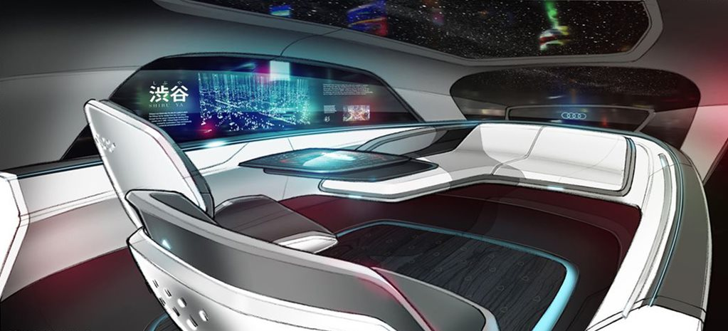 Audi Long Distance Lounge Concept Reveals Its Car Interior