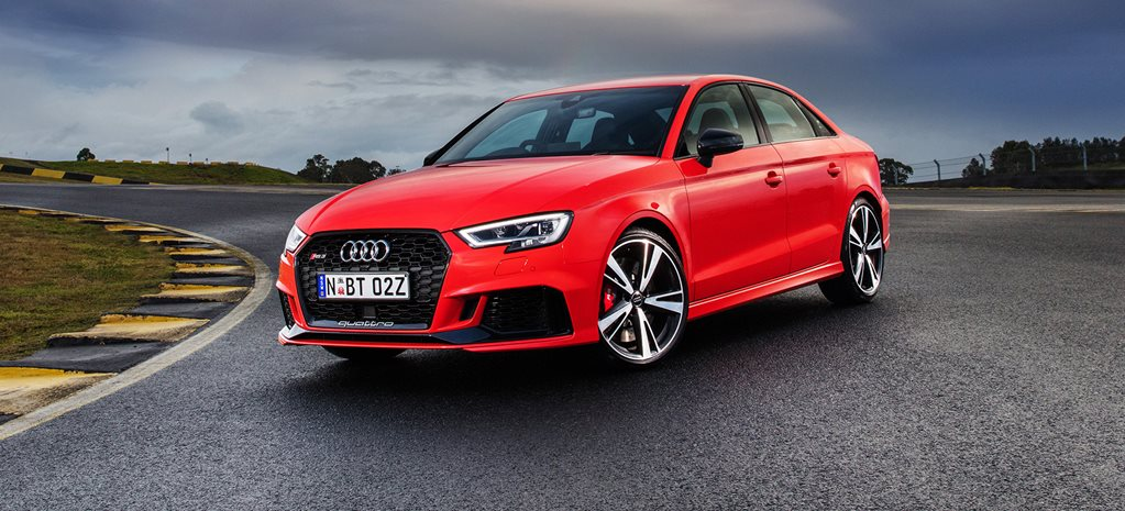 2017 Audi RS3 sedan arrives in Australia