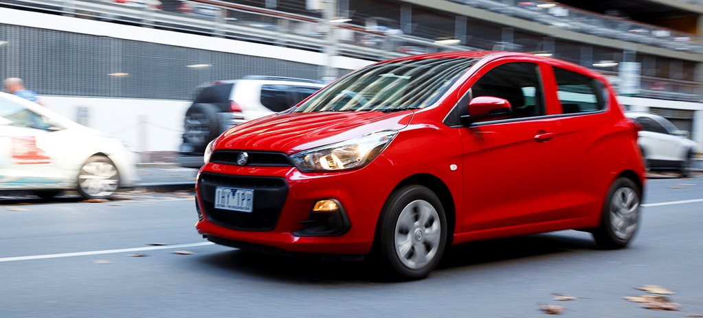 2017 Holden Spark LS manual quick review