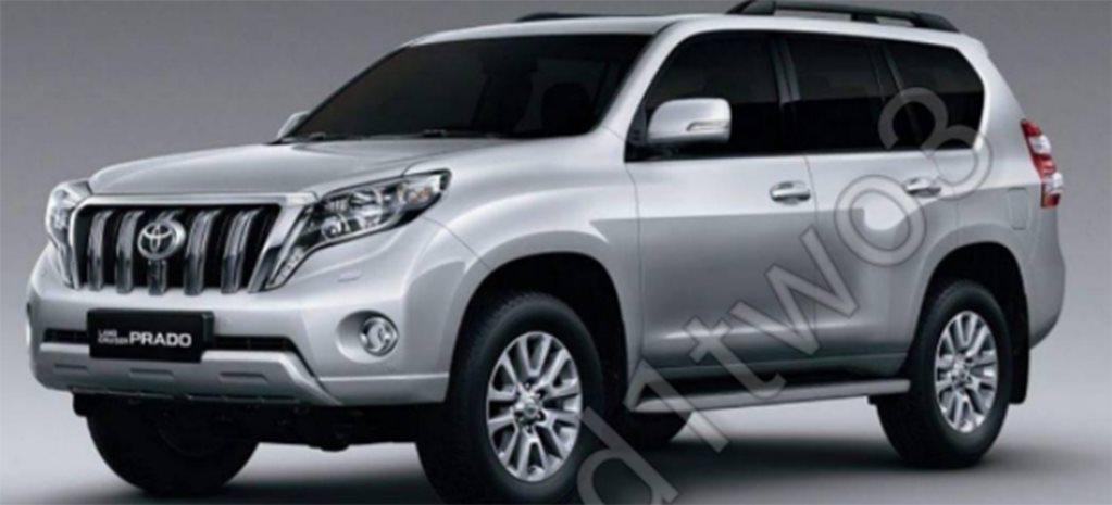 2018 toyota prado. brilliant prado 2018 toyota landcruiser prado facelift leaked inside toyota prado