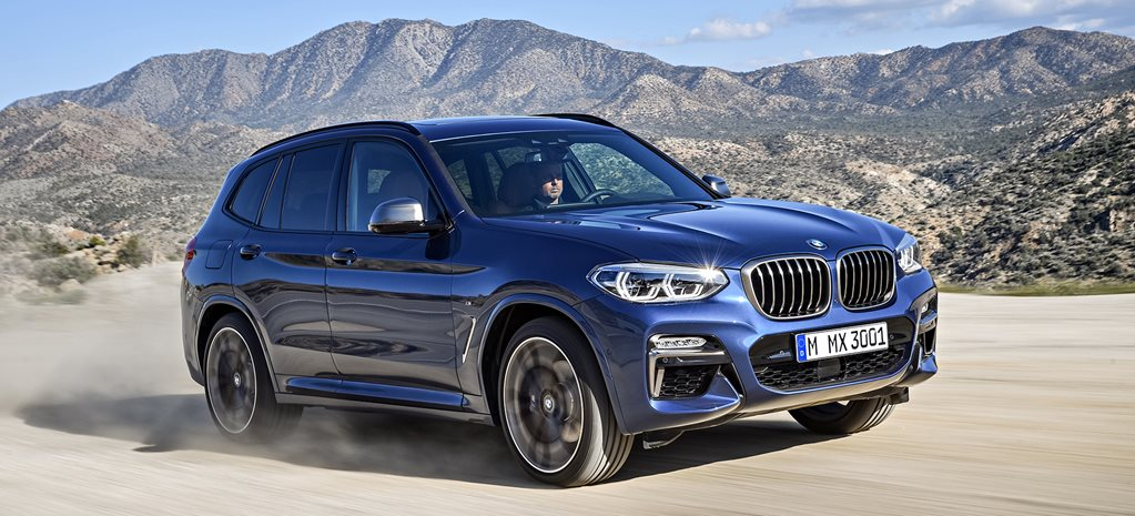 2018 BMW X3 model line-up revealed