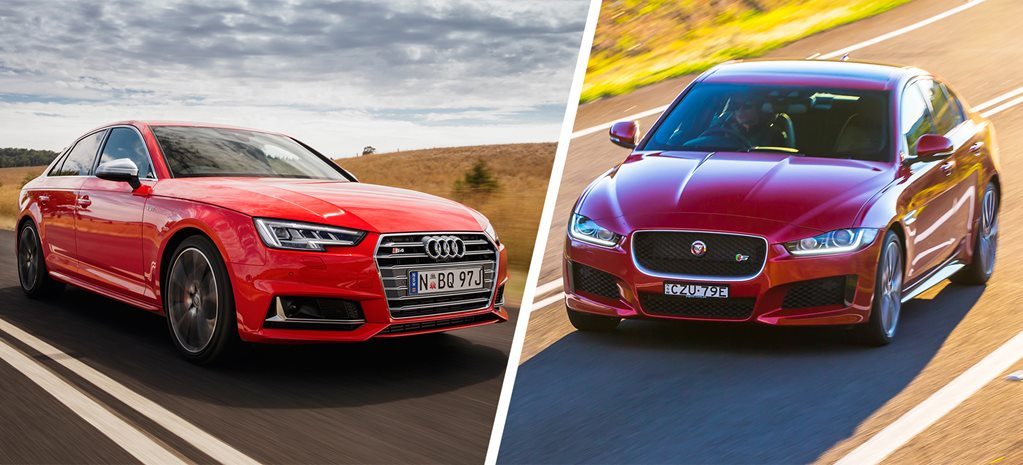 Audi S4 v Jaguar XE S comparison review