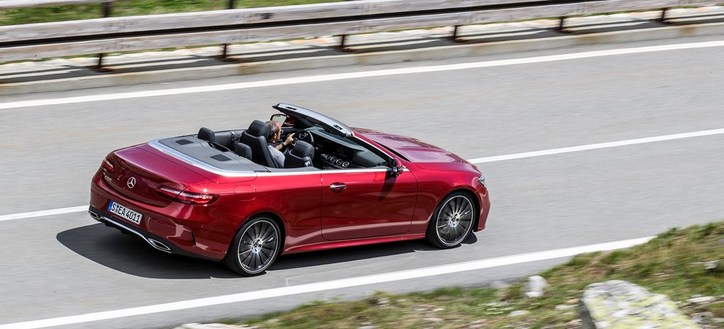 2018 Mercedes-Benz E-Class Cabriolet quick review