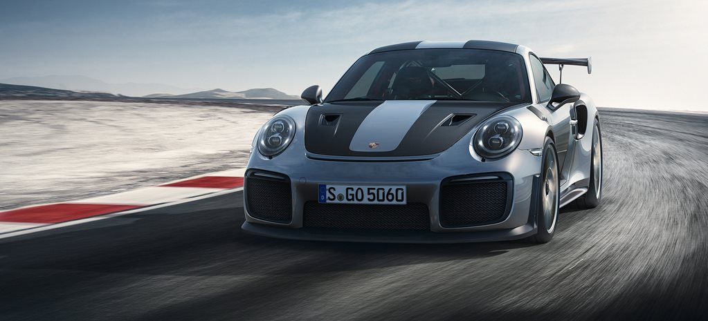 Porsche 911 GT2 RS unveiled at Goodwood Festival of Speed