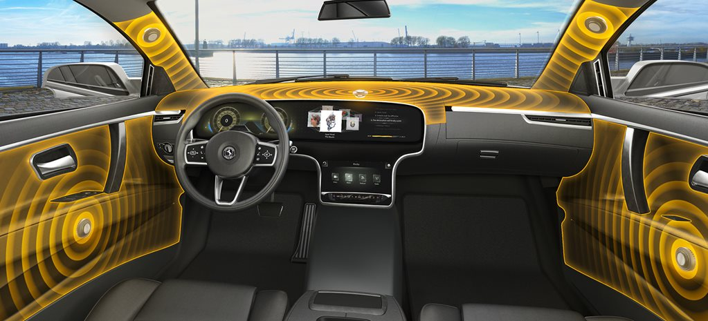 Speaker-less car stereo system developed by Continental