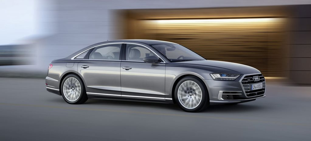 2018 Audi A8 revealed at Barcelona Summit