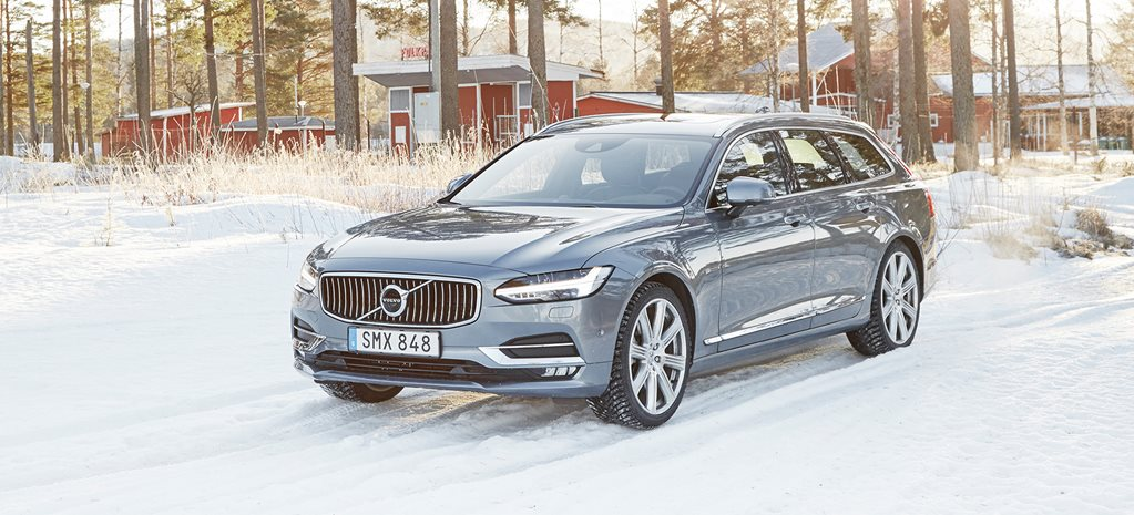 Drvien: 2017 Volvo V90 in Sweden