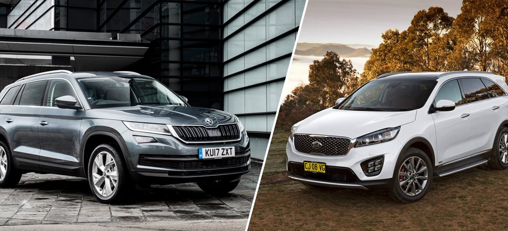 Kia Sorento v Skoda Kodiaq comparison review