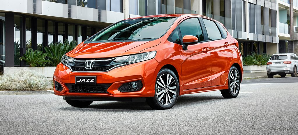 2018 Honda Jazz updated