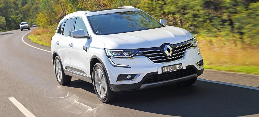 Renault adds diesel power to Koleos SUV range