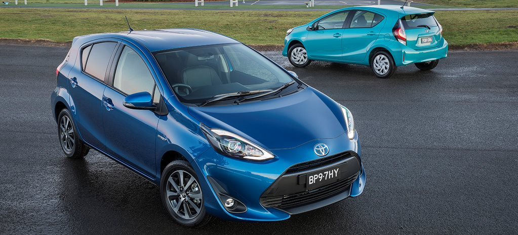 2018 Toyota Prius c price and features