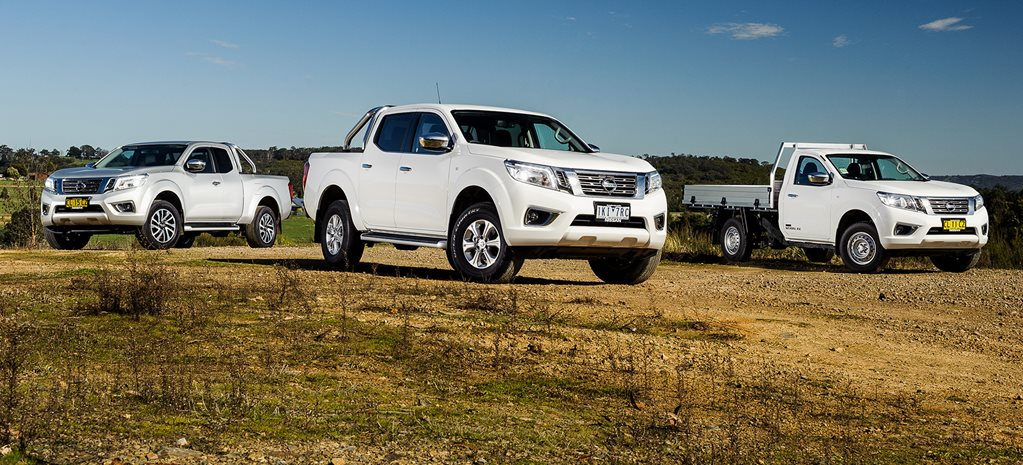 2017 Nissan Navara dual cab v king cab v single cab review video